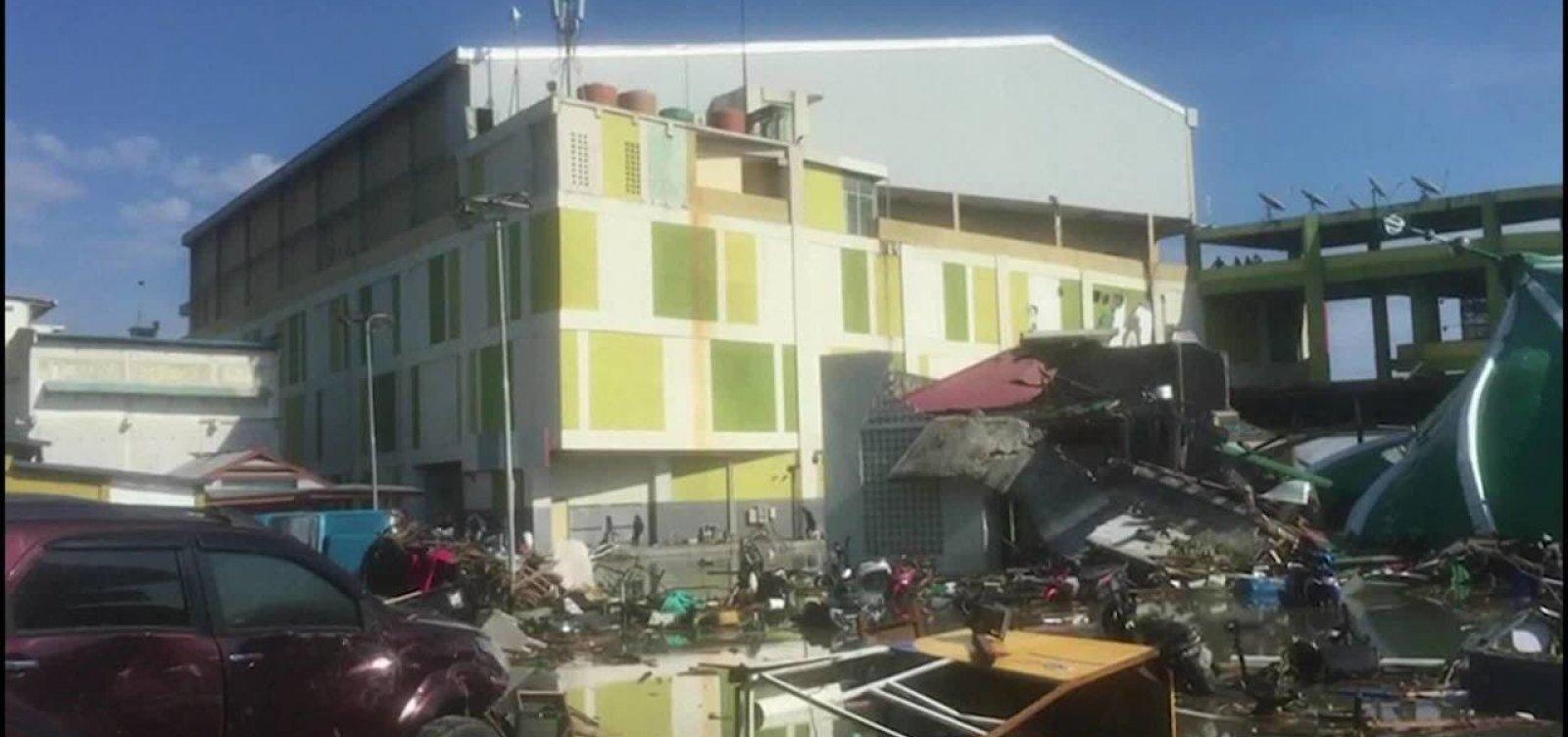 [Tufão Trami: número de feridos chega a 75 e paralisa transportes no Japão]