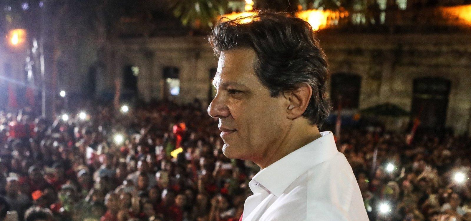 [Haddad vai intensificar visitas ao interior de São Paulo para melhorar desempenho]