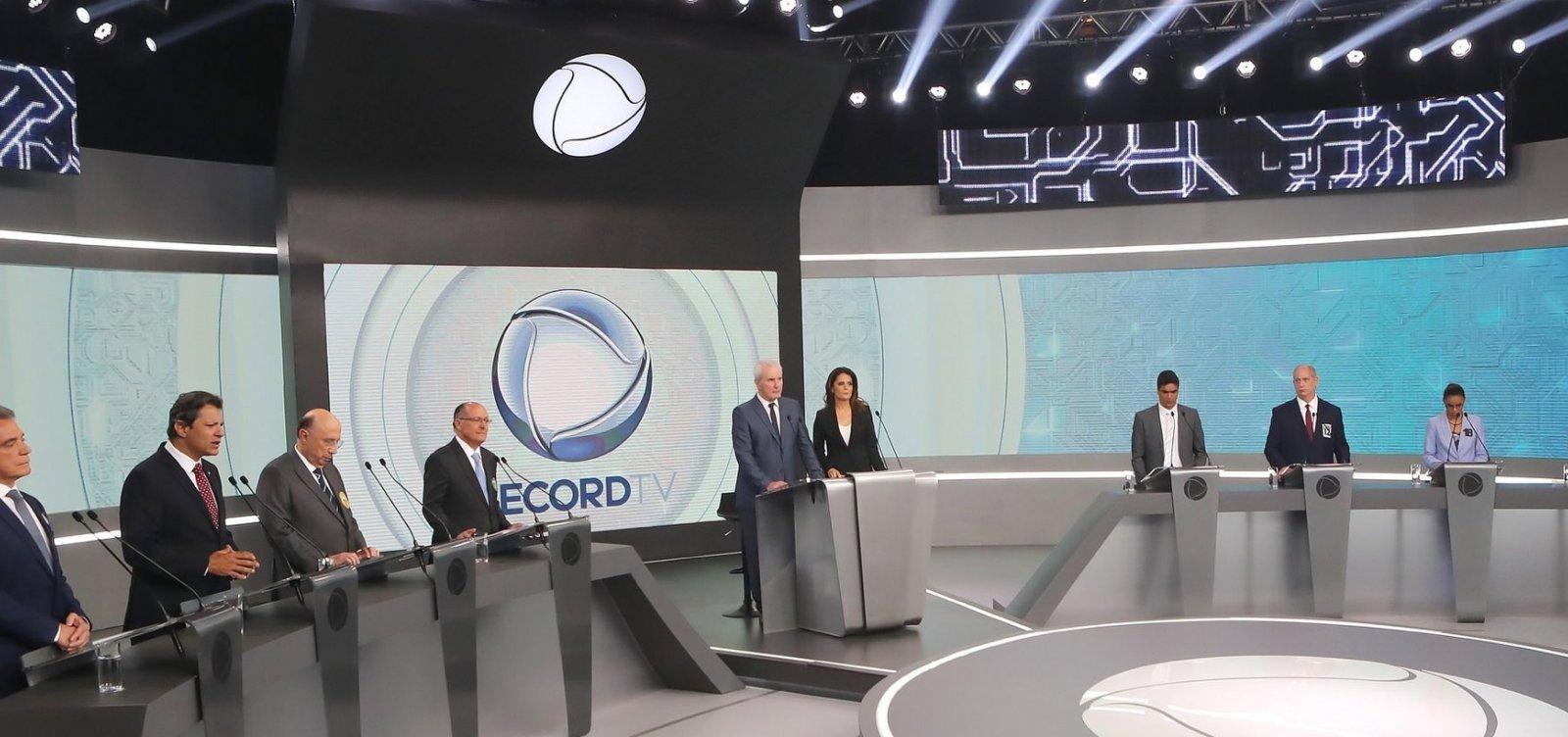 [Em debate, Haddad e Bolsonaro são alvos de ataques dos adversários]