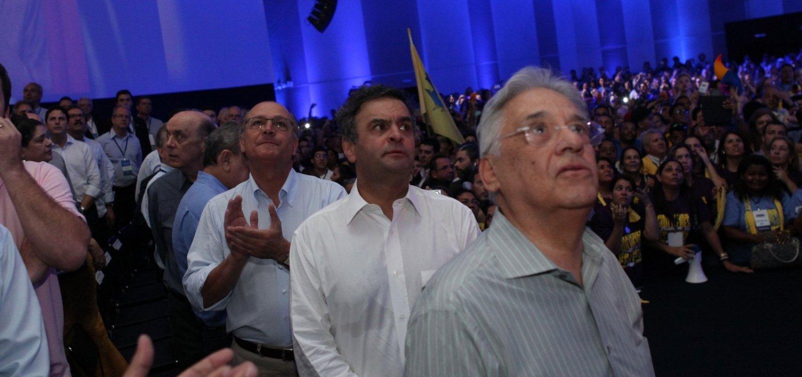 [PSDB deve ficar neutro se o 2º turno for entre Haddad e Bolsonaro]