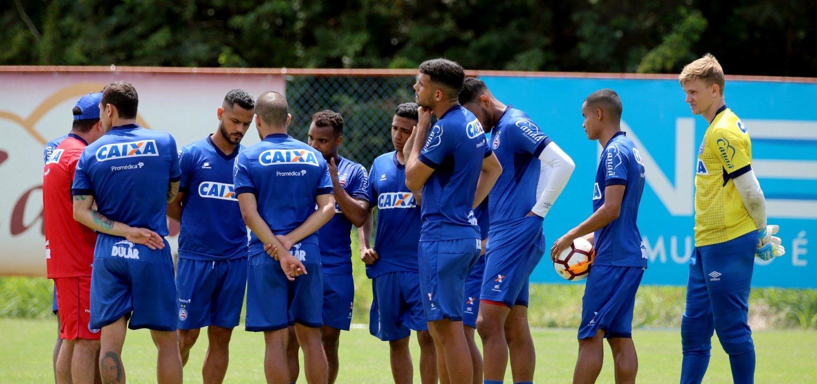 [Bahia inicia preparação para enfrentar o Botafogo na Sul-Americana]