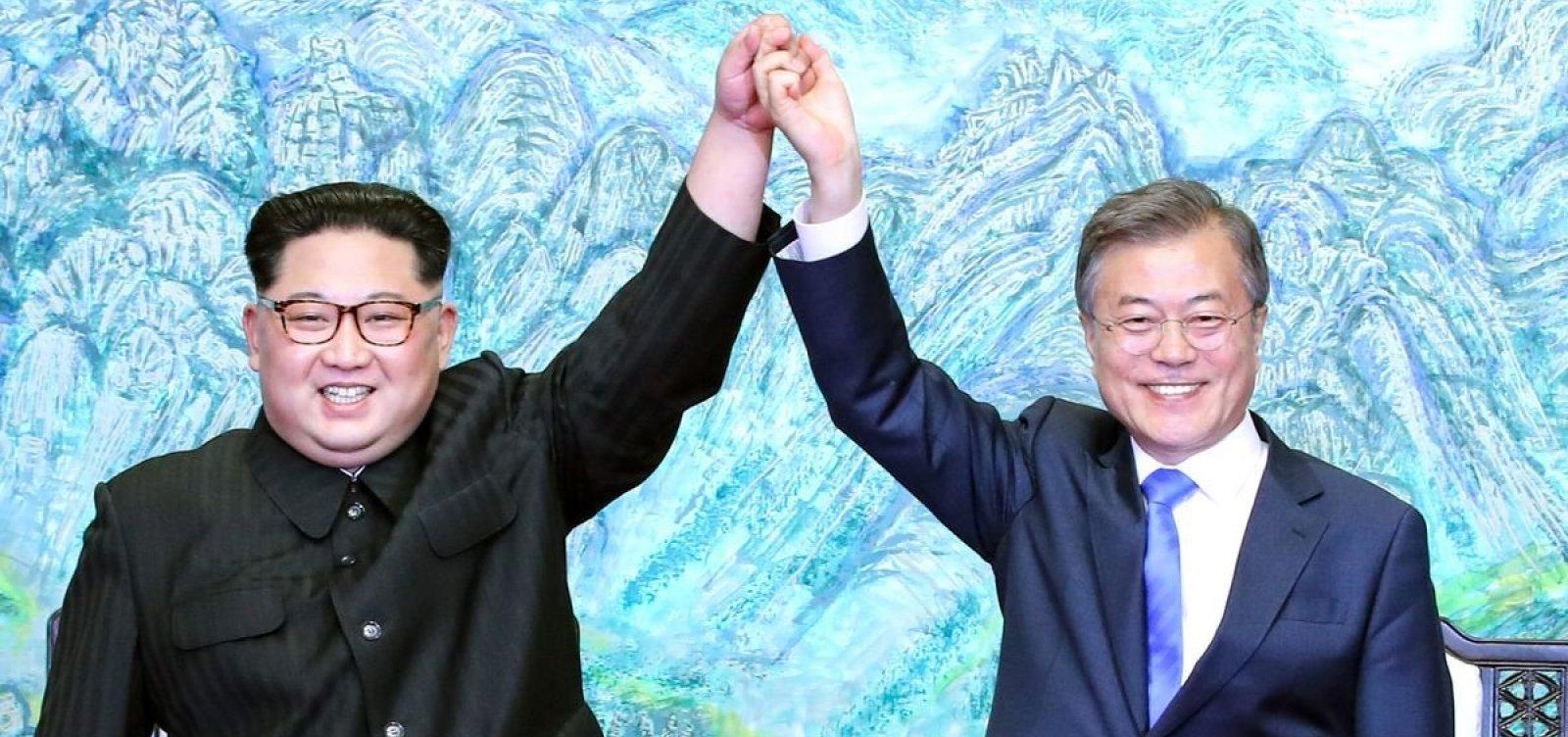 [Coreias do Sul e do Norte começam a remover minas terrestres de fronteira]