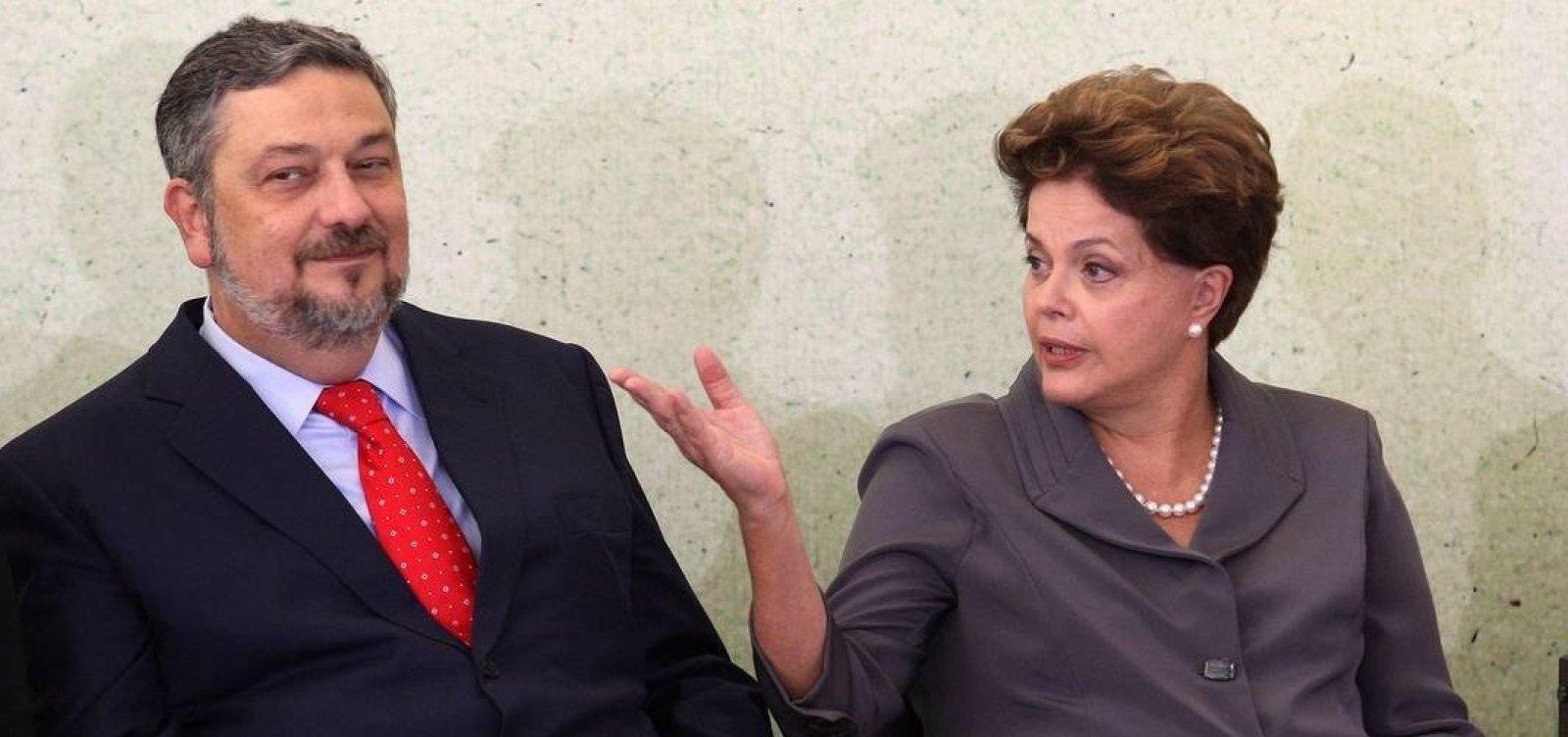 [Palocci diz que campanhas de Dilma custaram o dobro do declarado ao TSE]