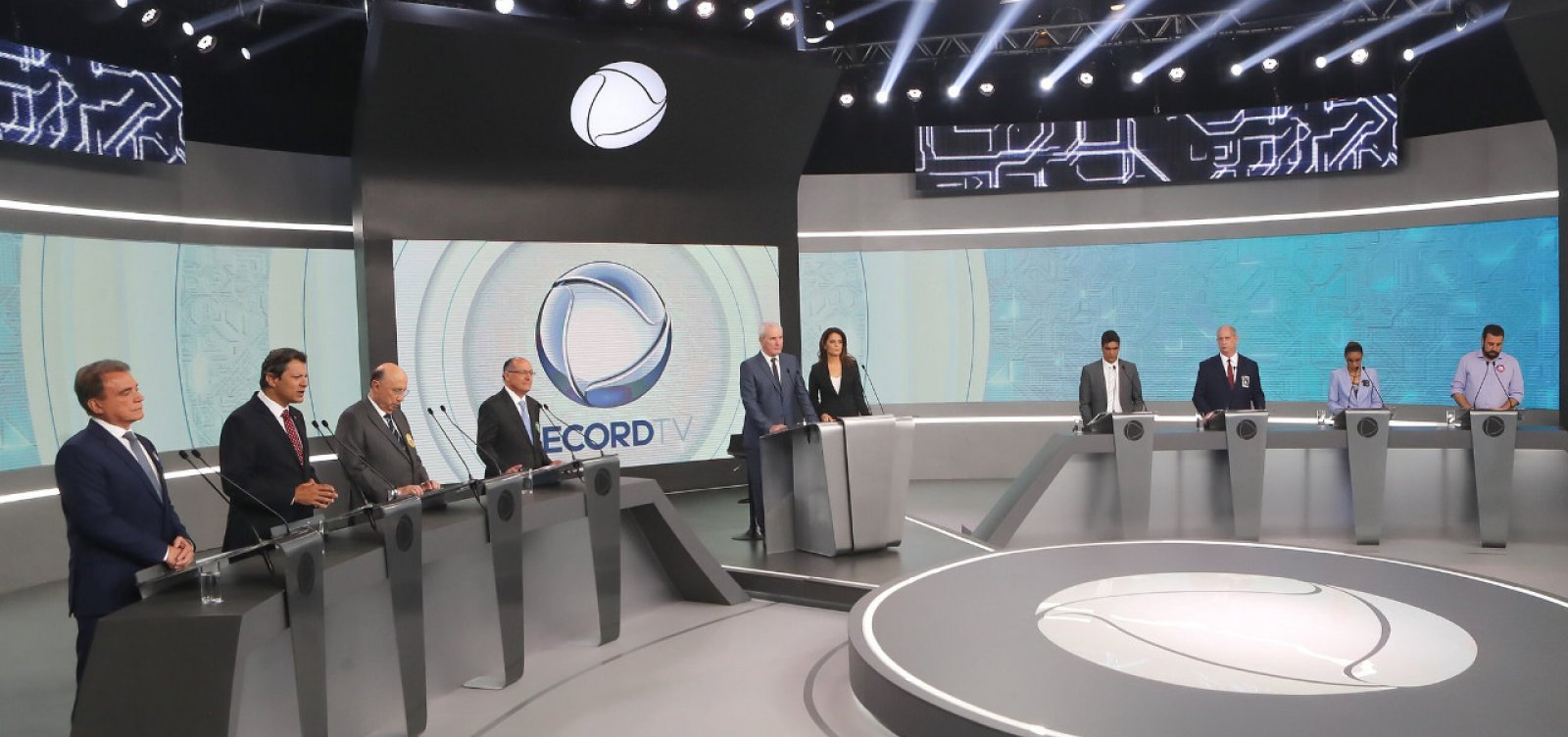 [Datafolha: Bolsonaro, 32%; Haddad, 21%; Ciro, 11%; Alckmin, 9%; Marina, 4%]