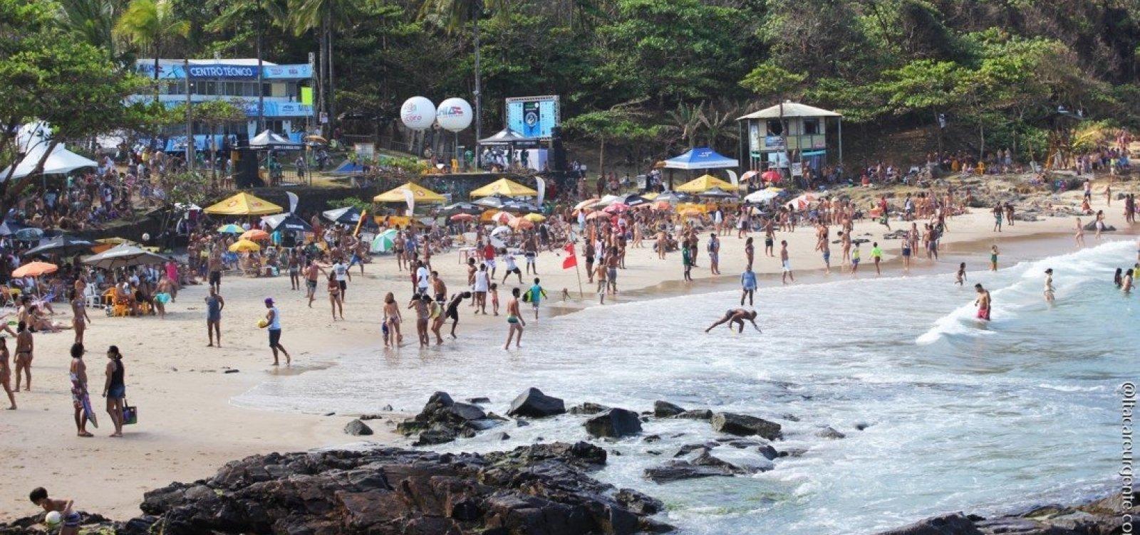 [Mundial de Surf será realizado este mês em Itacaré]