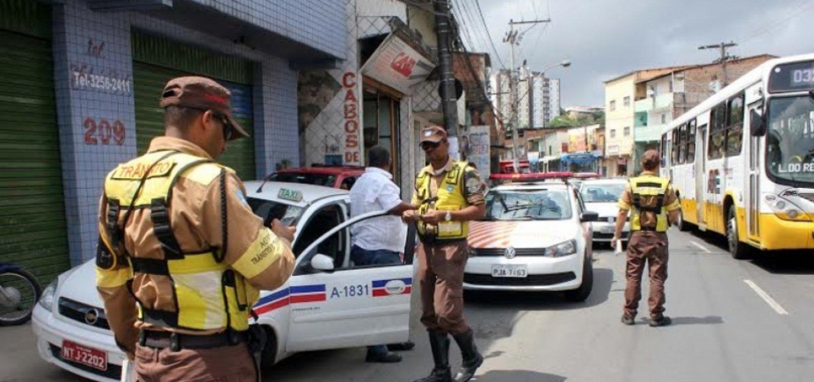 [Transalvador reforça monitoramento do trânsito em domingo de eleições]
