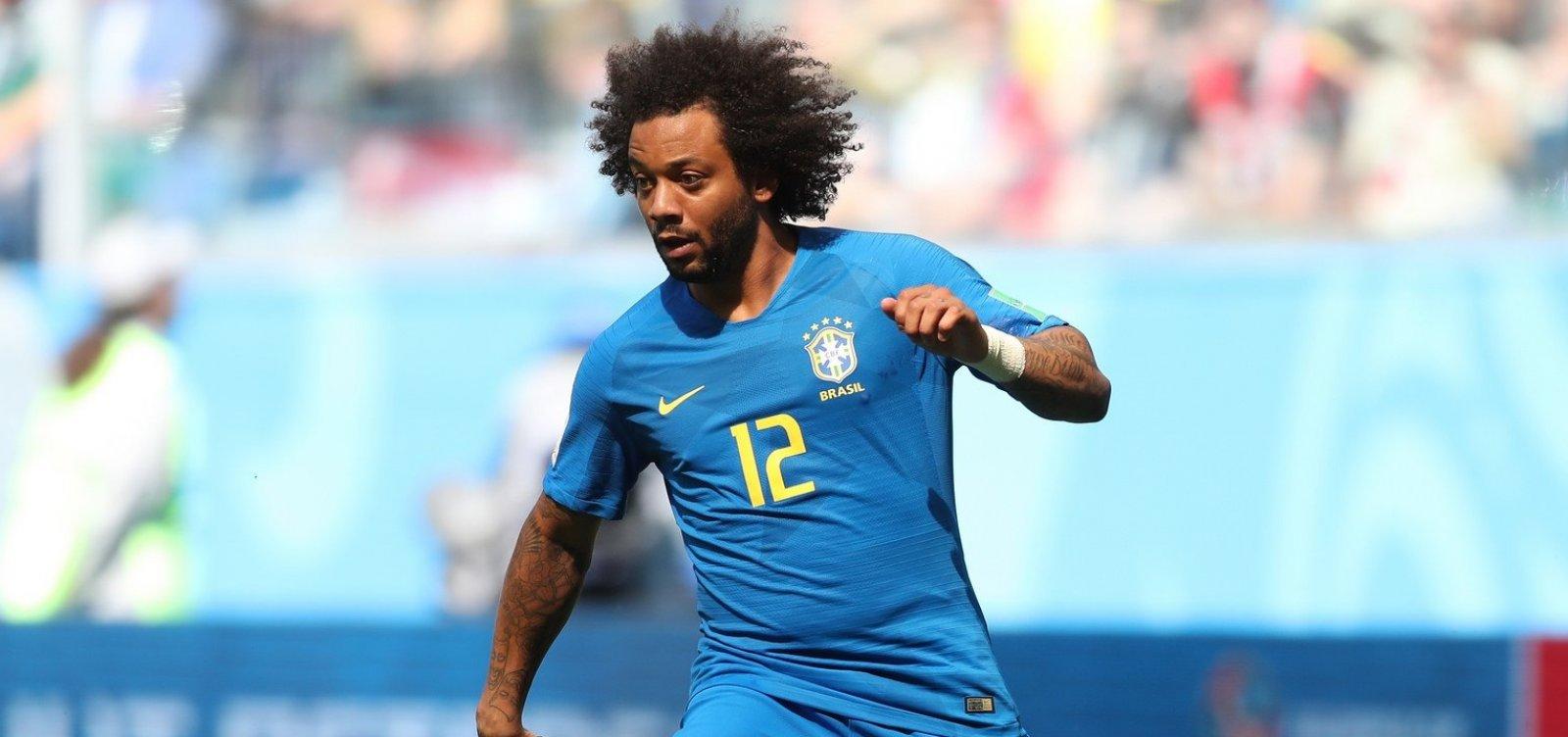 [Lesão faz Marcelo ser cortado da Seleção Brasileira]
