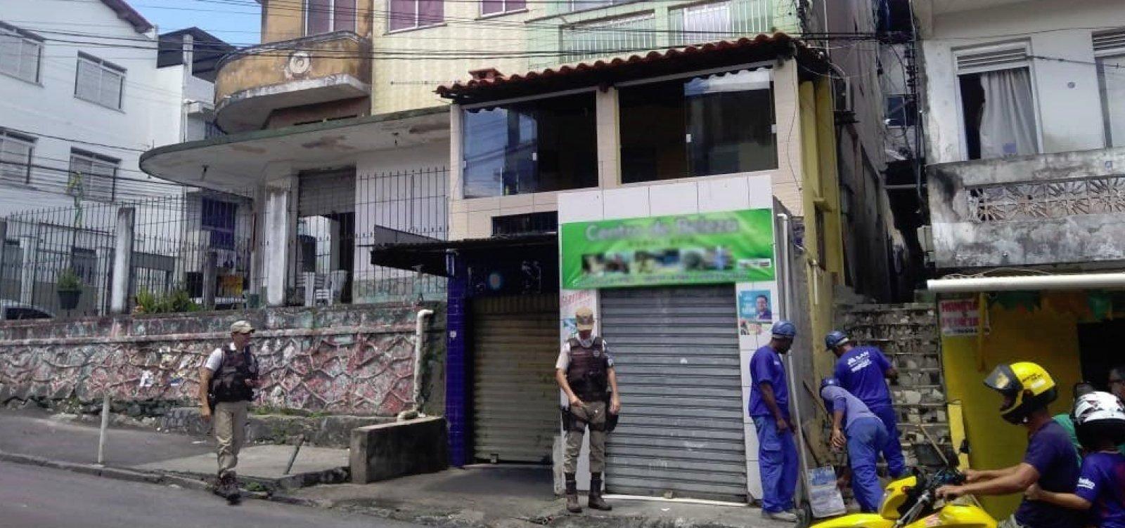 [Operação da Embasa encontra pontos de fornecimento ilegal de água em São Caetano]