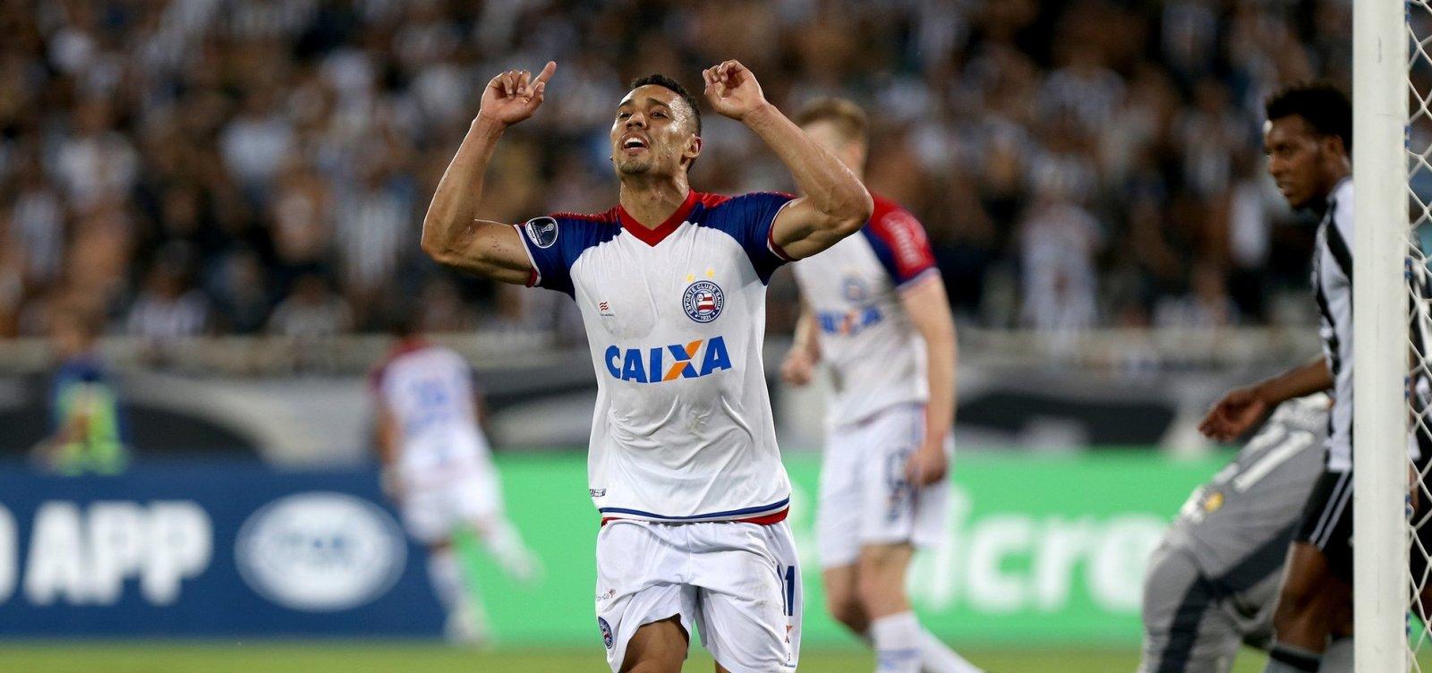 [Nos pênaltis, Bahia bate o Botafogo e avança na Sul-Americana]