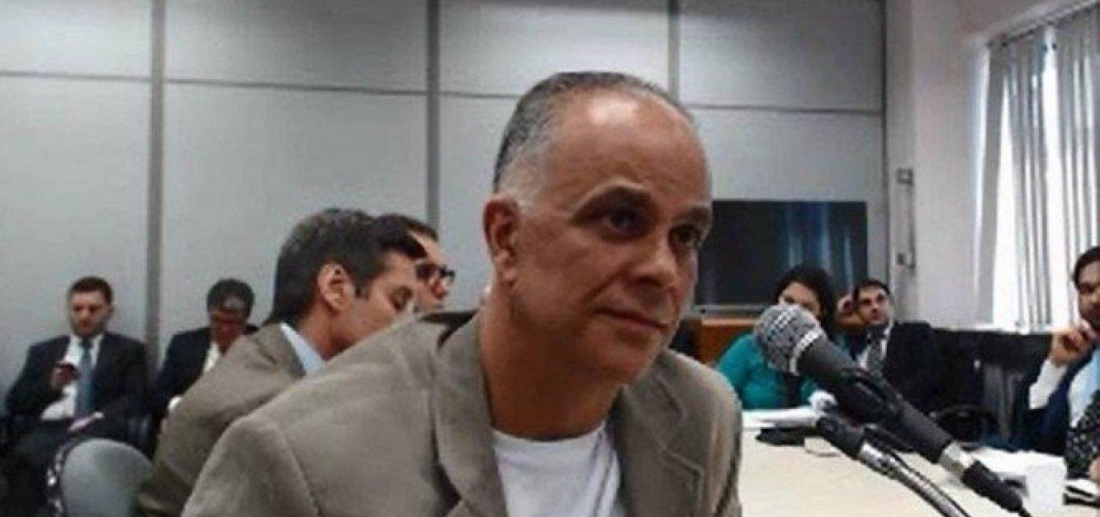 [Ministro do STF homologa acordo de delação de Marcos Valério]