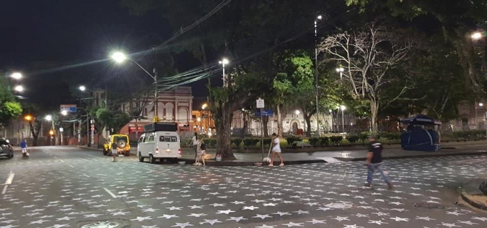 [Prefeitura vai acionar PT por 'sujar' a cidade com marca e número do partido]