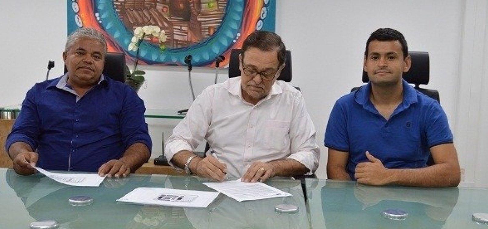 [Implantação de nova escola é autorizada em Novo Triunfo, no interior da Bahia]