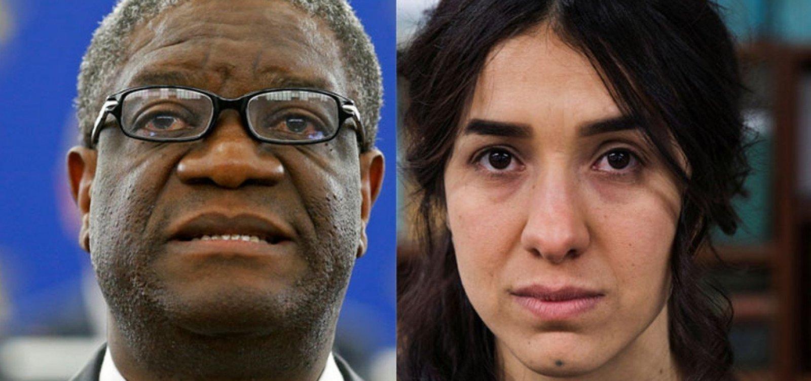 [Ex-escrava sexual e ginecologista ganham Nobel da Paz 2018]