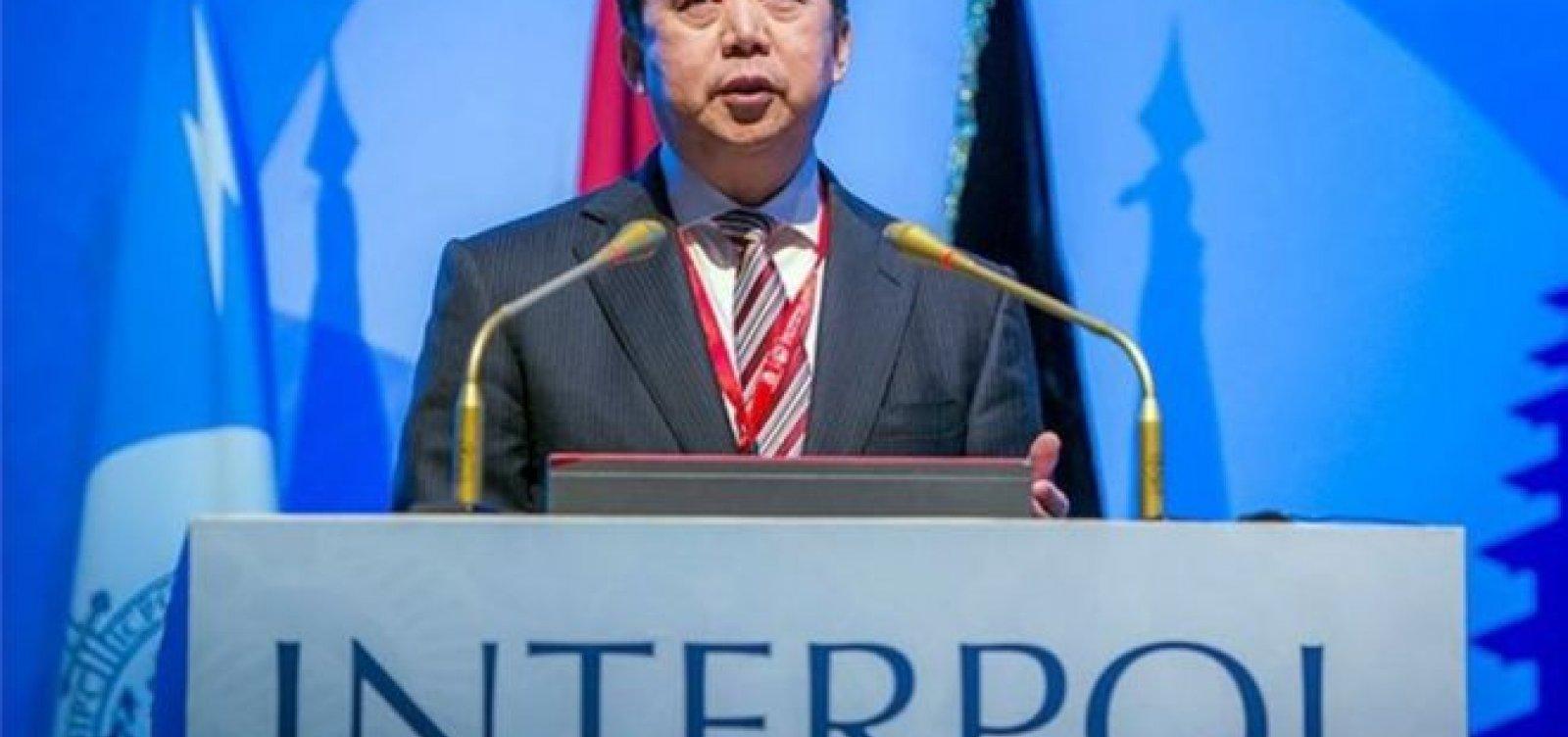 [França investiga se presidente da Interpol está desaparecido]