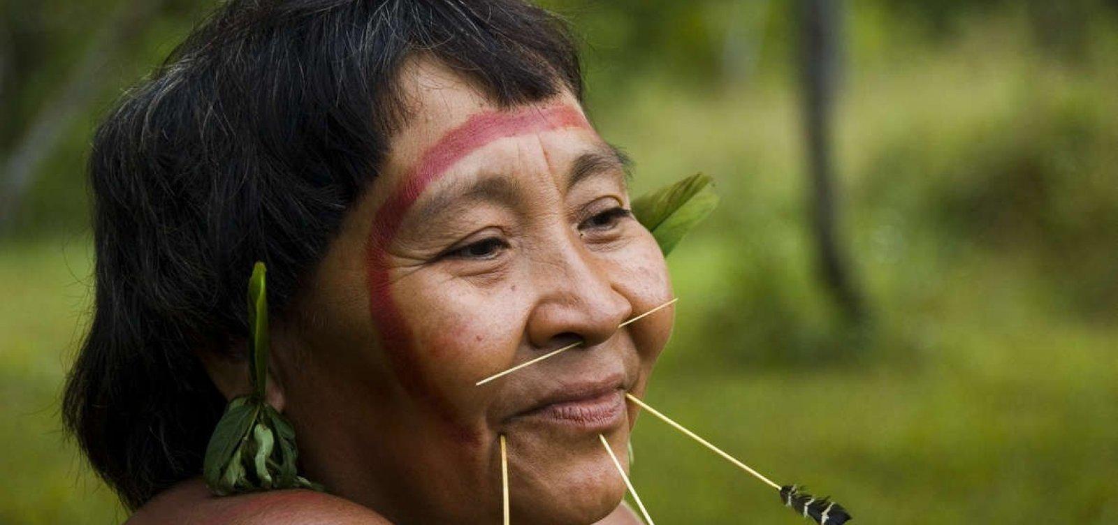 [Sarampo mata 72 ianomâmis na Venezuela]