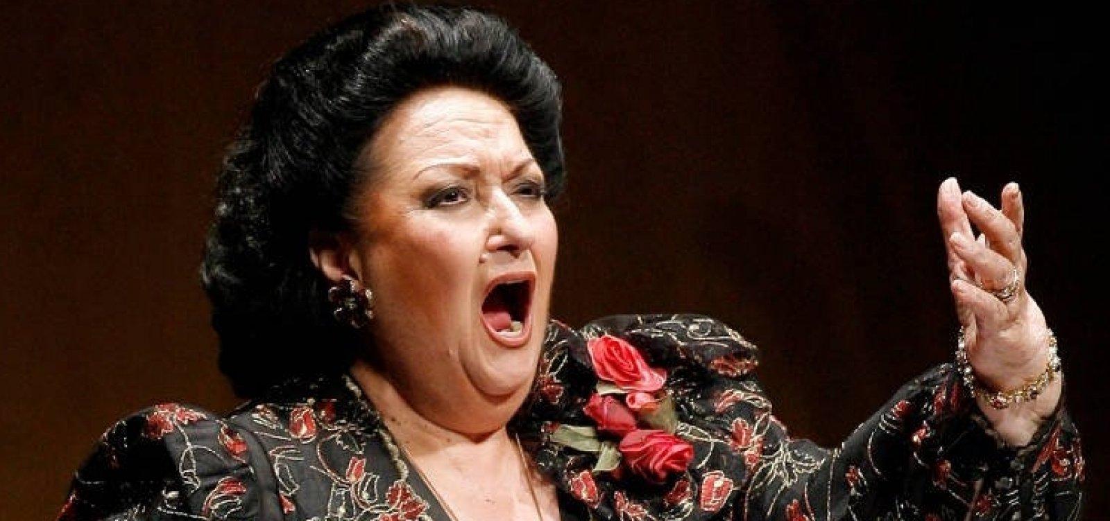 [Montserrat Caballé, soprano espanhola, morre aos 85 anos]