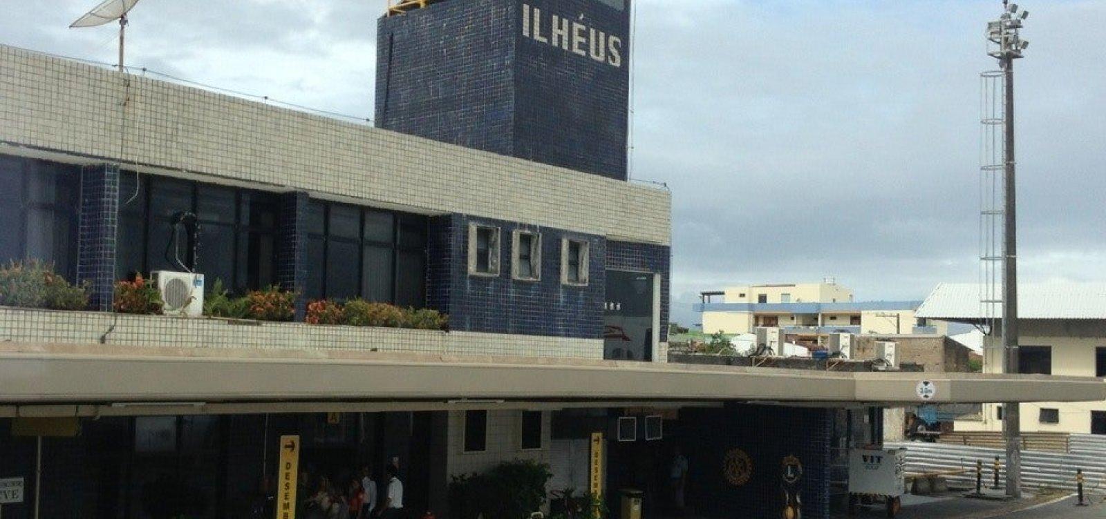 [Empresa assume operação de aeroporto de Ilhéus com previsão de investir R$ 100 mi em 30 anos]