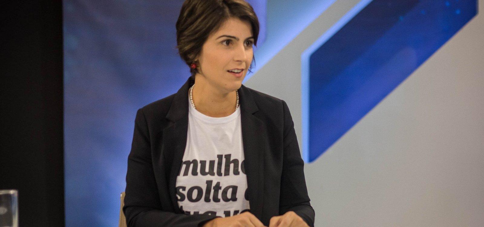 [Manuela D'Ávila cobra mais eficiência no combate a 'fake news']