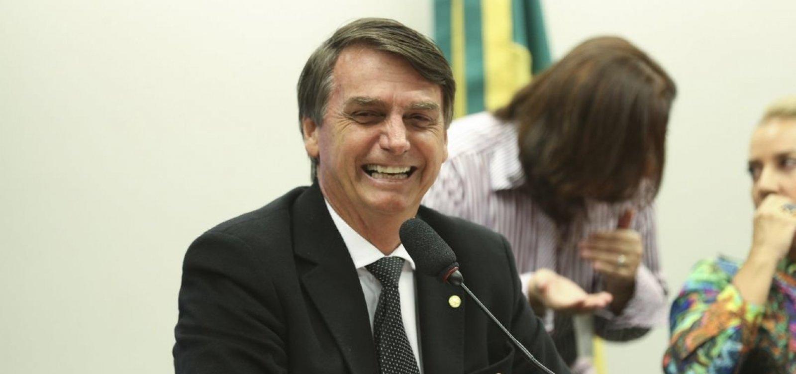 [Bolsonaro diz confiar na vitória em primeiro turno]