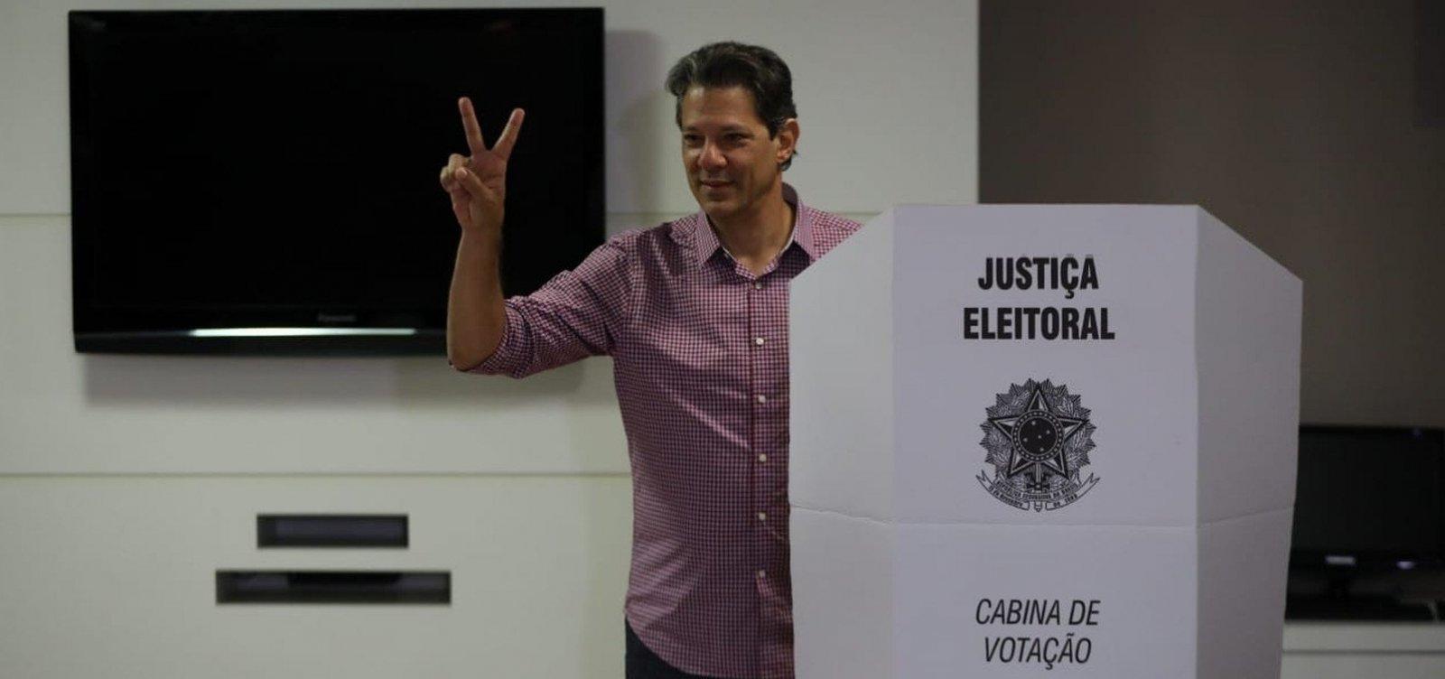 [ Haddad diz que vai felicitar 'quem quer que seja eleito']