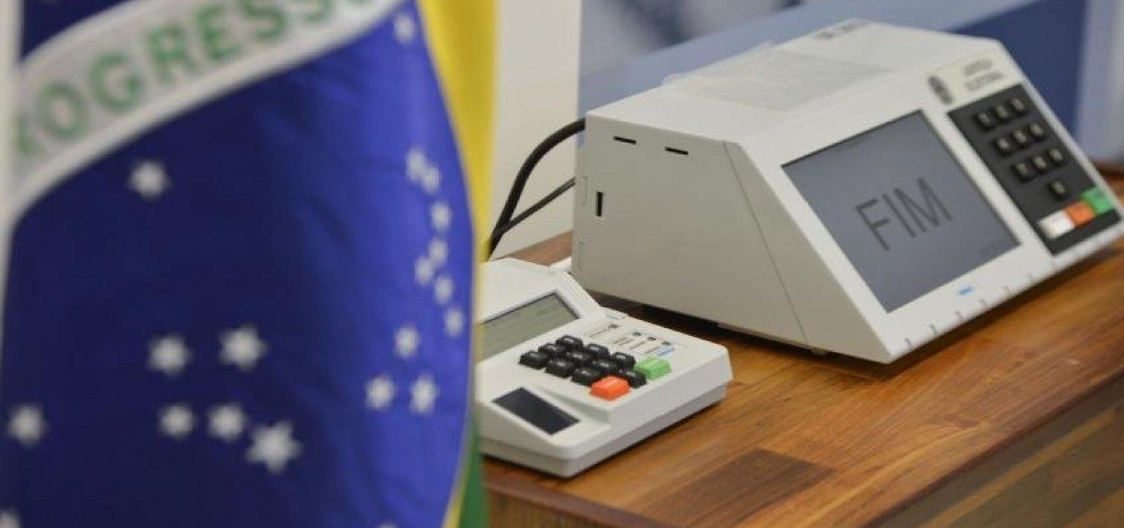 [Quase 200 casos de crimes eleitorais foram registrados até meio-dia]