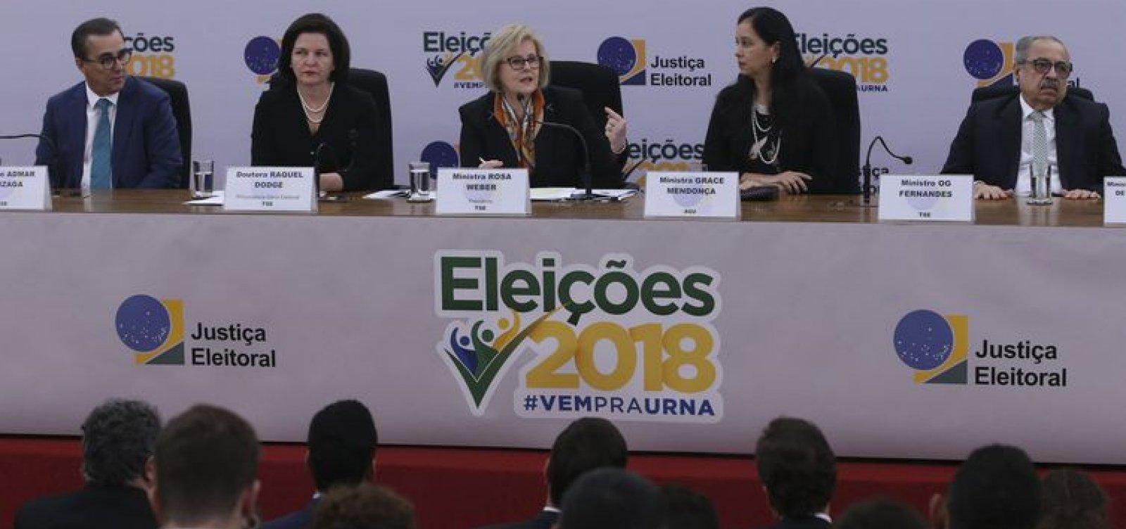 [Presidente do Tribunal Superior Eleitoral nega fraude em urnas: 'Total confiança']
