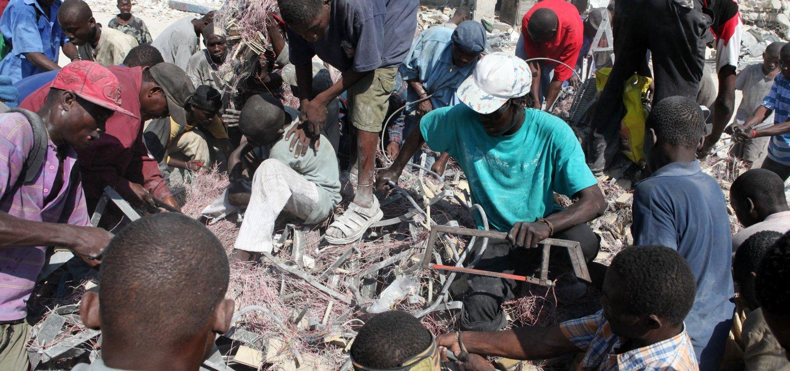 [Terremoto atinge noroeste do Haiti e deixa ao menos 14 mortos]