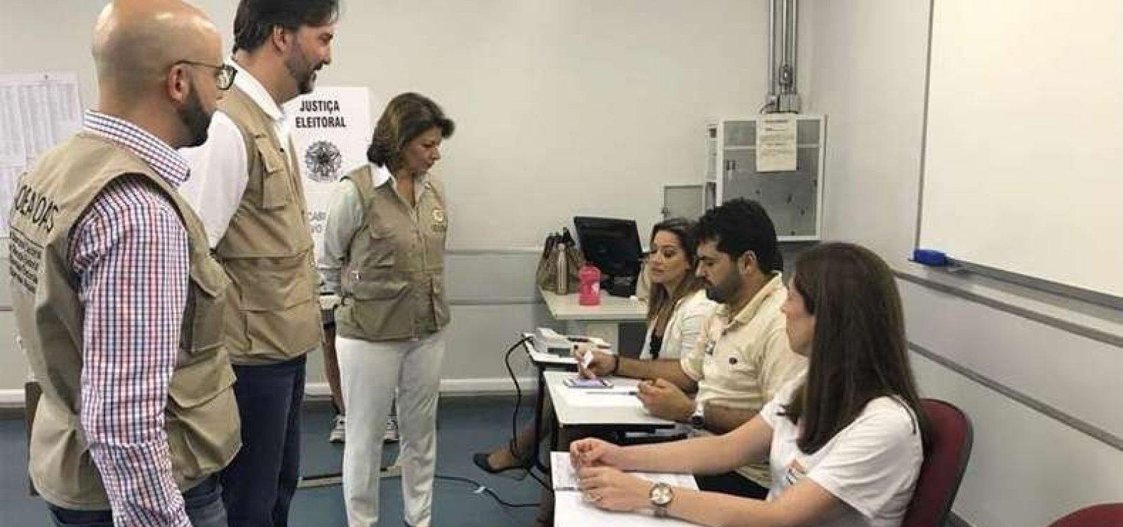 [Não há vulnerabilidade no sistema de votação até o momento, diz missão da OEA]