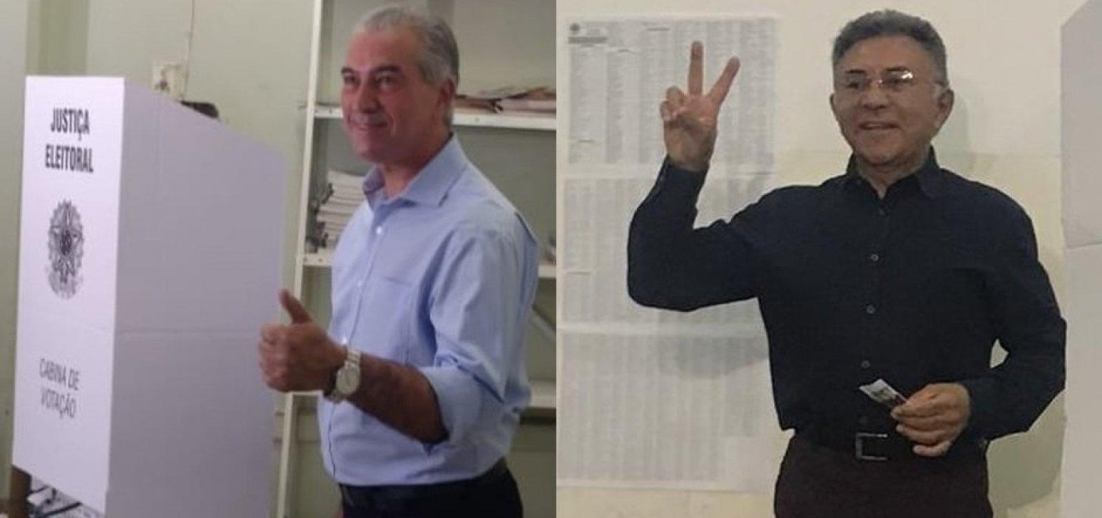 [MS: Reinaldo Azambuja e Juiz Odilon vão para o segundo turno pelo governo]