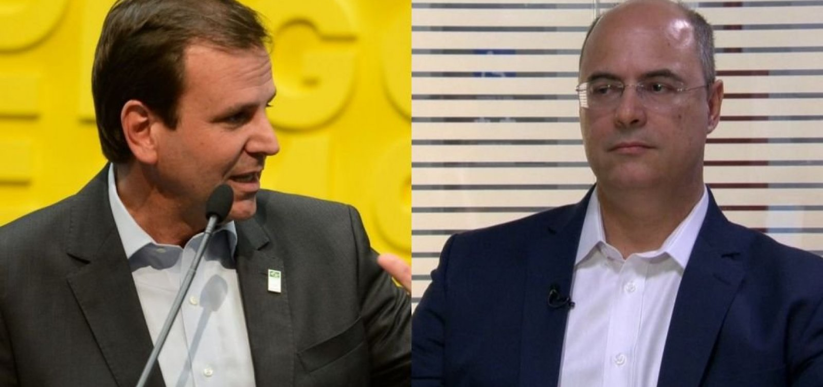 [RJ: Witzel e Paes vão para o segundo turno pelo governo]
