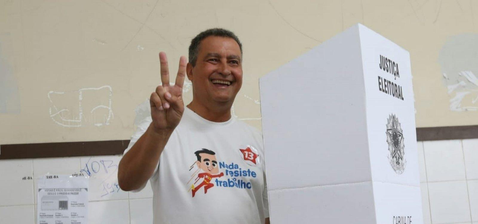 [Rui Costa dedica 'vitória histórica' ao povo baiano: 'Bahia consagra a vontade popular']