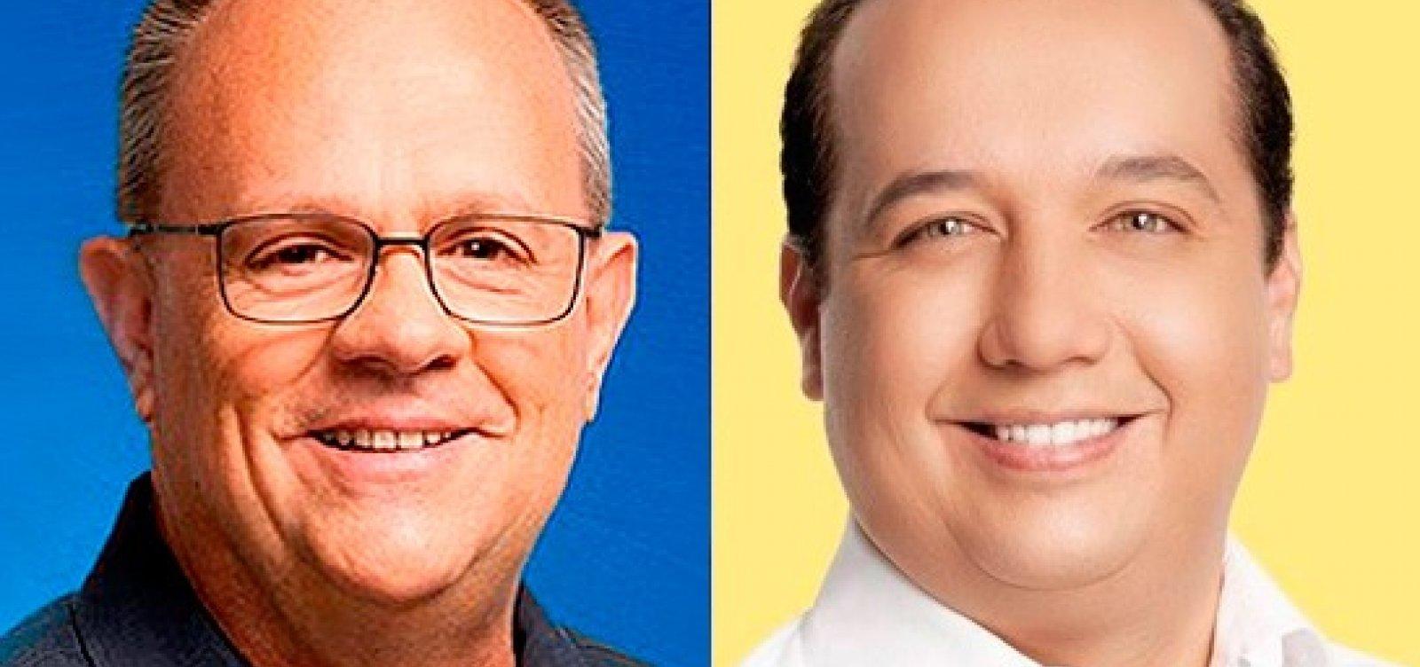 [SE: Belivaldo e Valadares Filho vão para o segundo turno pelo governo]