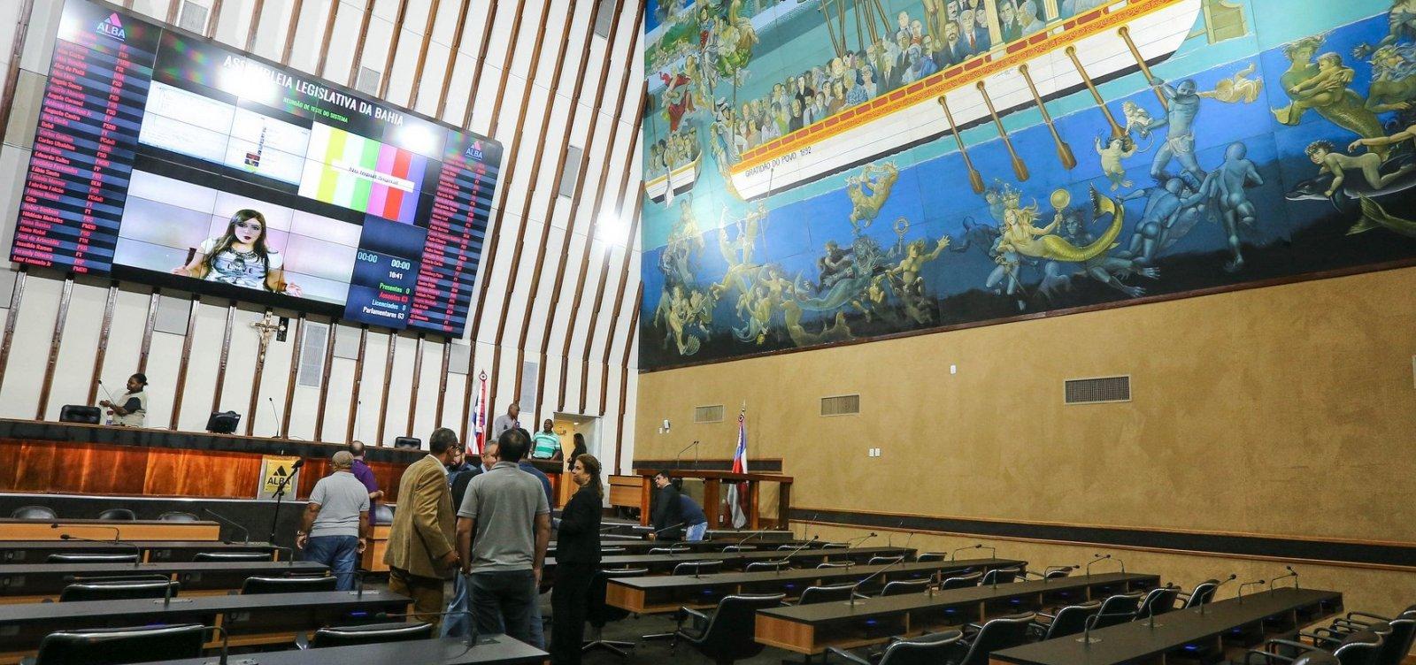 [Governo mantém 42 deputados na AL-BA; oposição cai para 19]