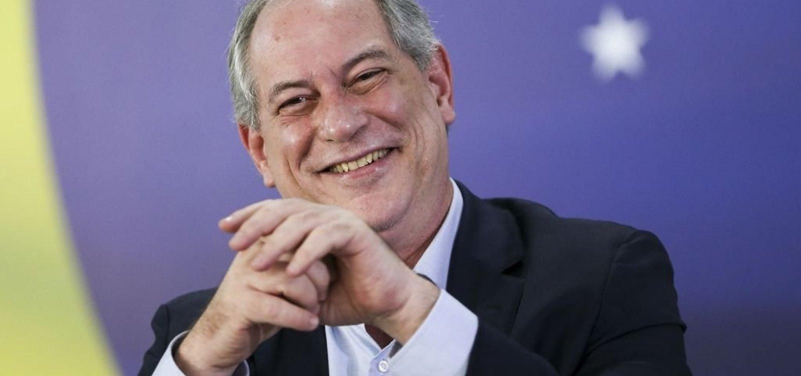 [Ciro descarta apoio a Bolsonaro: 'Ele não, sem dúvida']