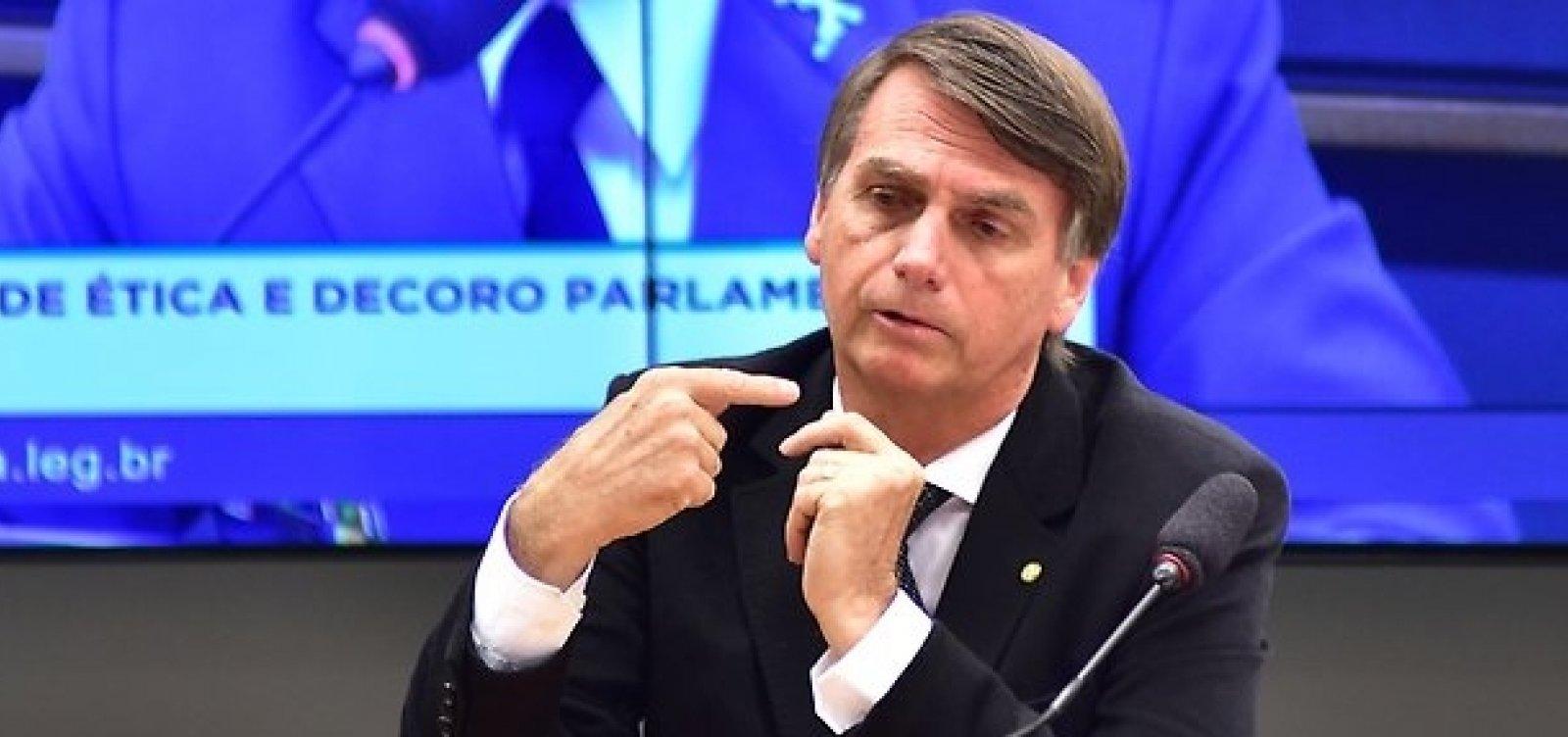 [Bolsonaro pretende participar de debates para se consolidar como candidato antipetista]
