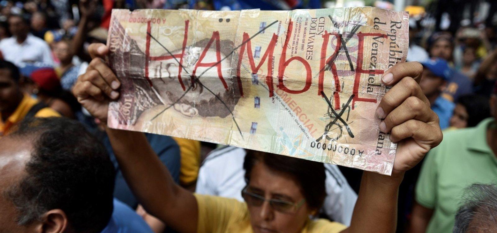 [Relatório da oposição diz que inflação anual chega a 488.865% na Venezuela]
