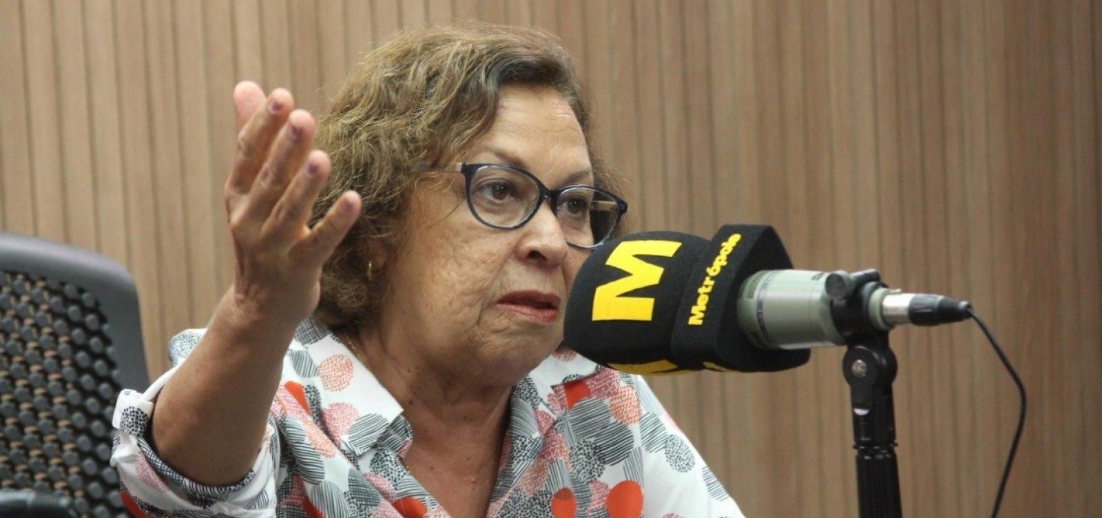 [Lídice lamenta campanha de Imbassahy por Bolsonaro: 'Nem ACM teria essa postura']