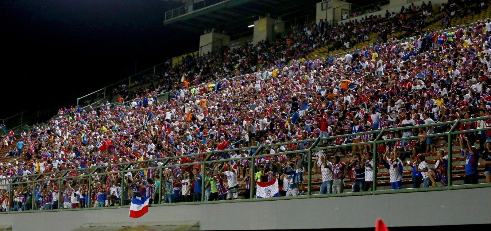 [Bahia anuncia promoção na venda de ingressos para jogo contra o Paraná]