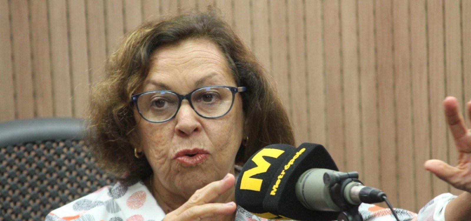 ['Nem disponível, nem indisponível', diz Lídice sobre candidatura à prefeitura de Salvador]