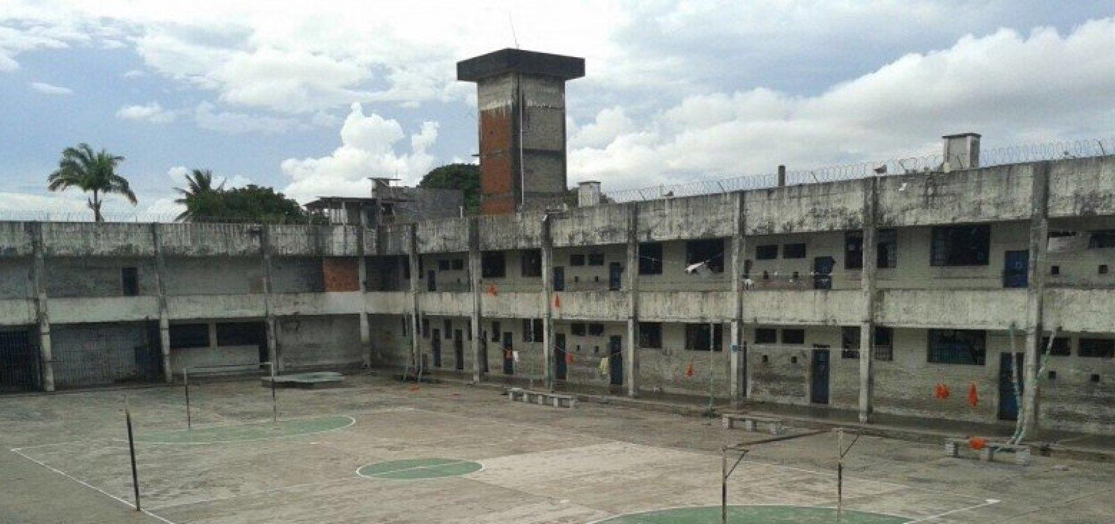 [Polícia recaptura três detentos que fugiram do Presídio Salvador]