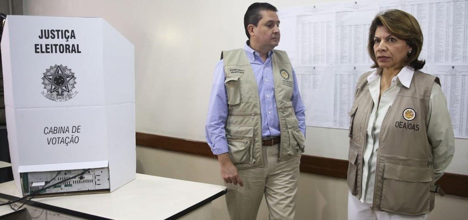 [OEA destaca agressividade das eleições]