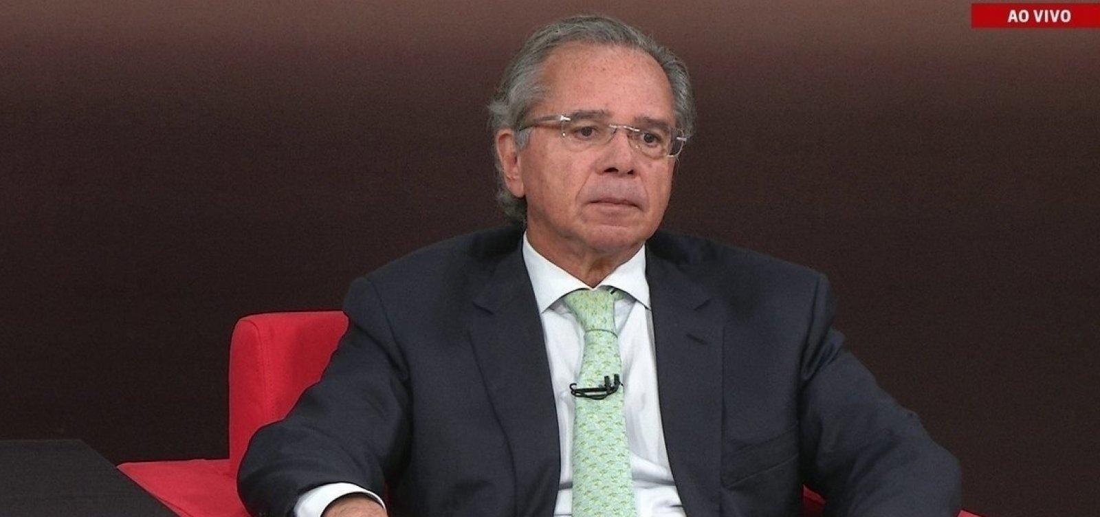 [Paulo Guedes diz que polêmica envolvendo CPMF 'foi um equívoco enorme']