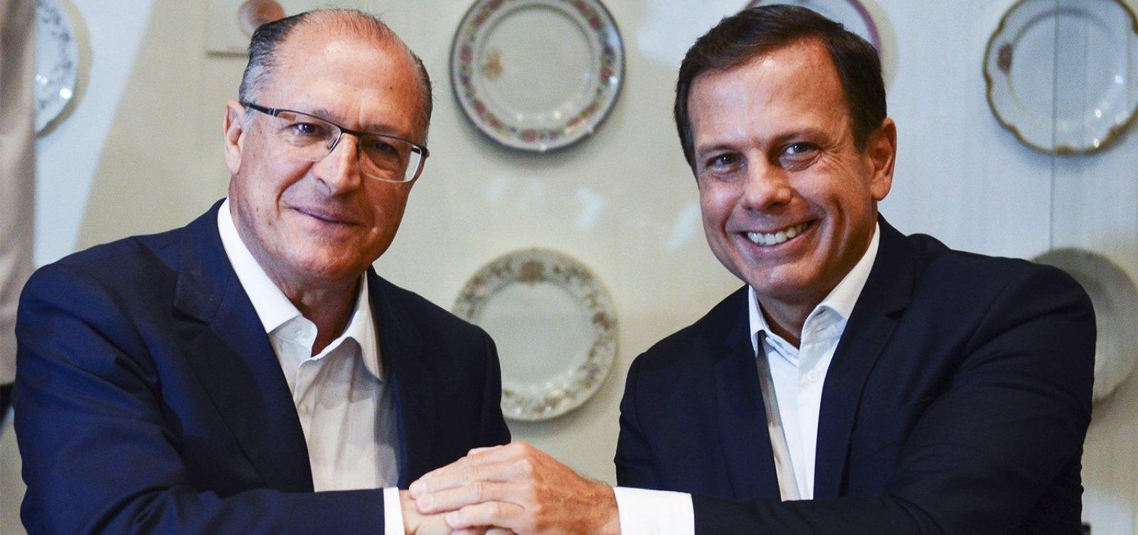 [Em reunião do PSDB, Alckmin insinua que Doria é traidor e covarde]