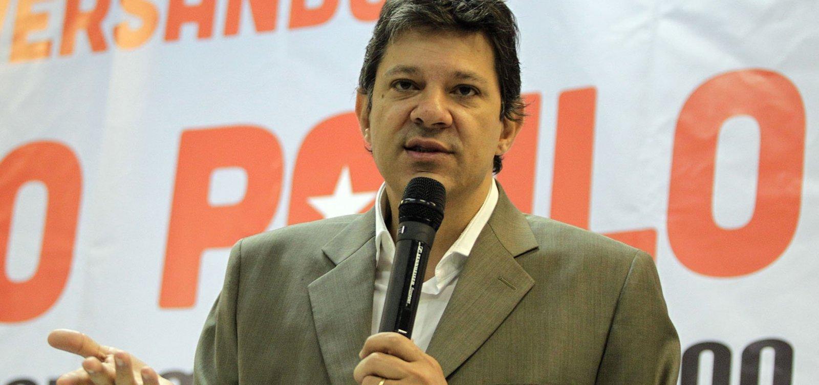 [Aliados querem que Haddad incorpore proposta de Alckmin]