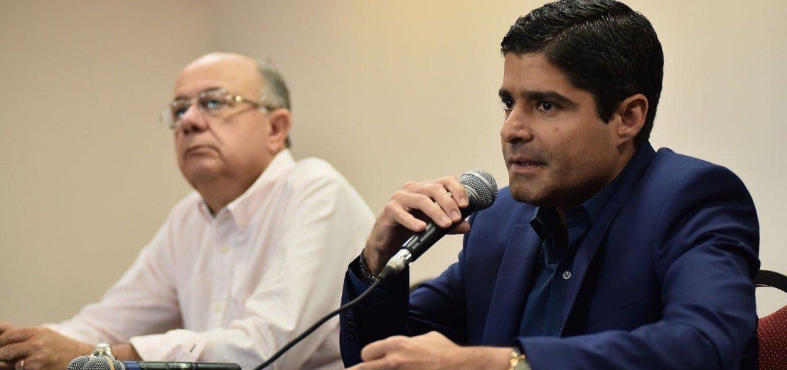 [ACM Neto declara apoio a Jair Bolsonaro]
