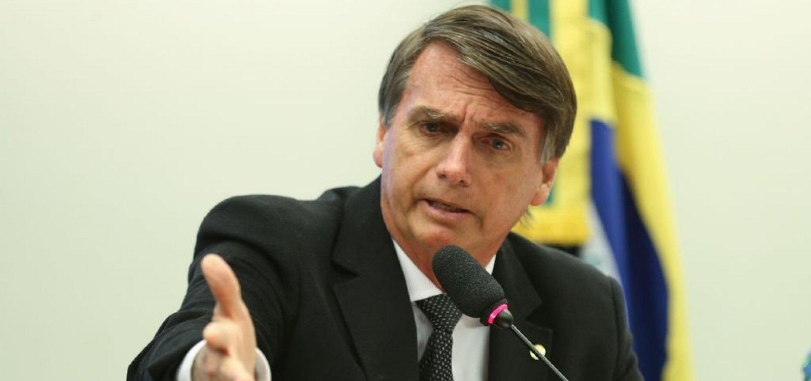 [Bolsonaro provoca Haddad: 'Sua hora vai chegar, marmita de corrupto preso']