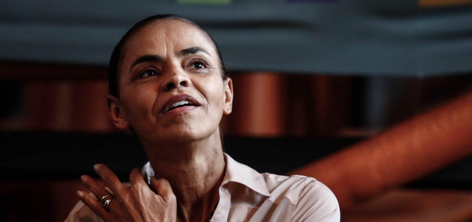 [Partido de Marina Silva recomenda 'nenhum voto' em Bolsonaro]