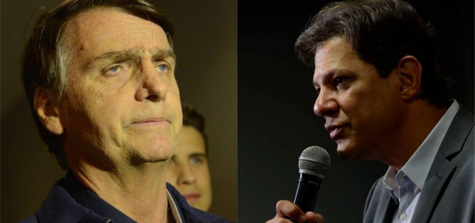 [Bolsonaro e Haddad fazem apelos contra a violência política]