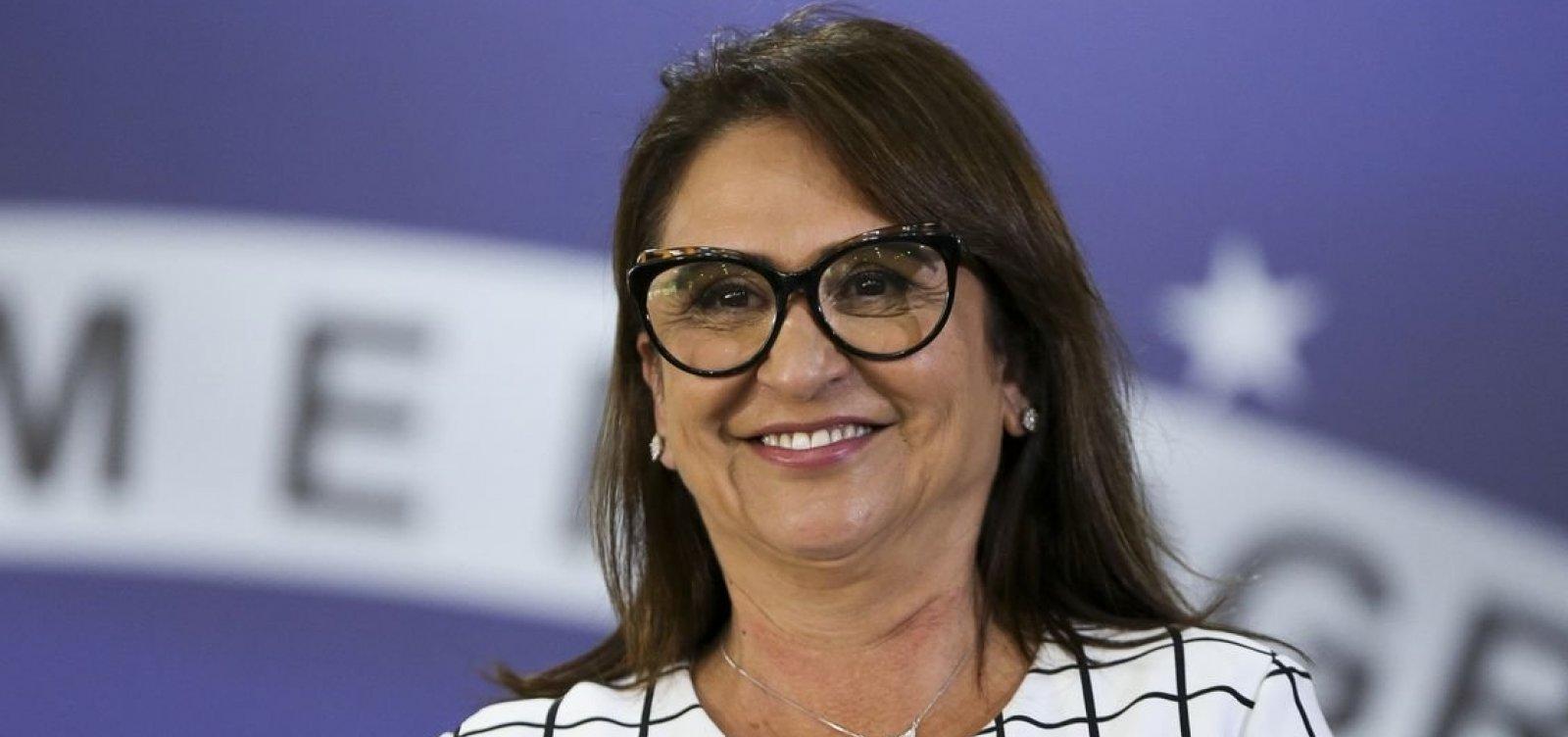 [Kátia Abreu sugere desistência de Haddad para que Ciro dispute 2º turno]