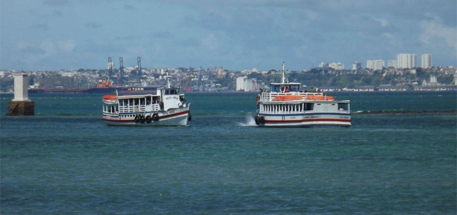 [Embarcações saem a cada 15 minutos em travessia Salvador-Mar Grande]